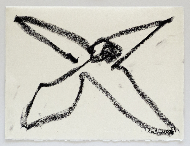 , 'Reanimation performance drawing (Bird Drawing),' 2014, Wilkinson