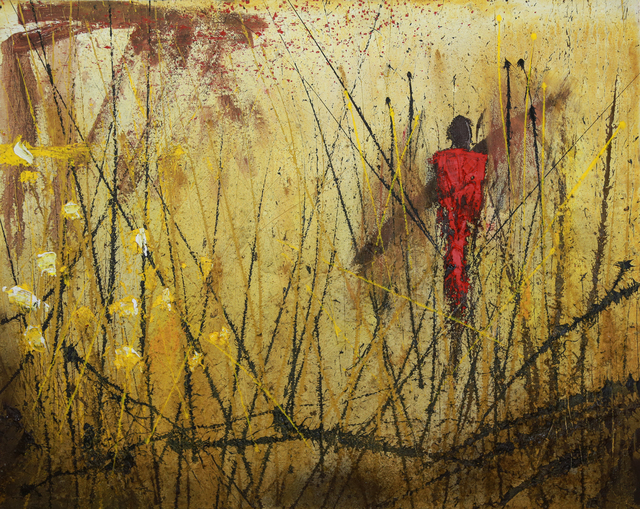 , 'Masai,' 2015, Galerie AM PARK