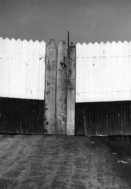 , 'Wood Fence,' 1940, Tibor de Nagy