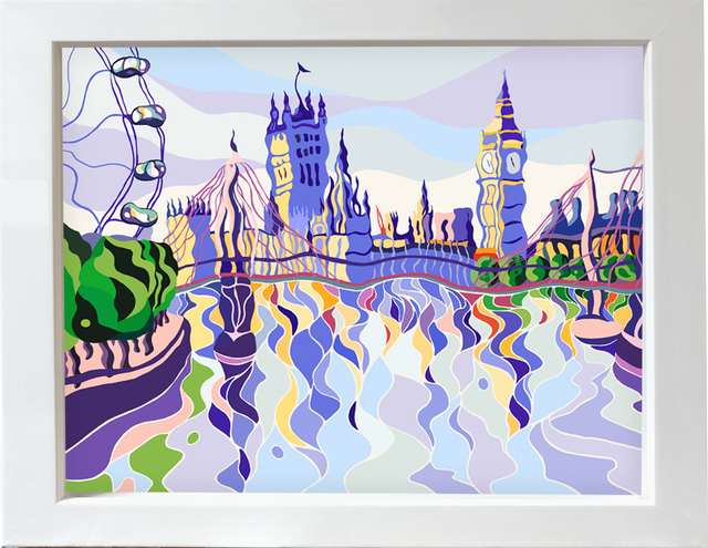 , 'Westminster Reflections - Large,' 2016, M1 Fine Art