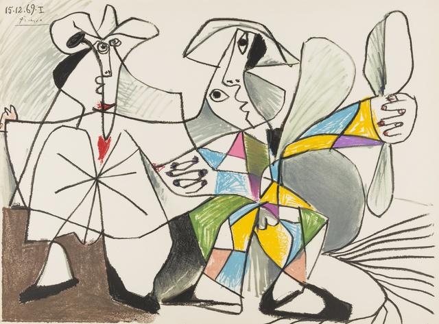 Pablo Picasso, 'Au Baiser D'Avignon', 1972, Forum Auctions