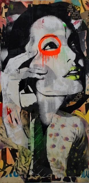 , 'Neon Lips Jolie,' 2012, Avant Gallery