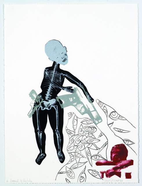 , 'From the Series Soul Erased: Scorned He Implodes,' 1999, Goya Contemporary/Goya-Girl Press