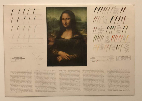 , 'Analysis of La Gioconda,' 1976, Henrique Faria Fine Art