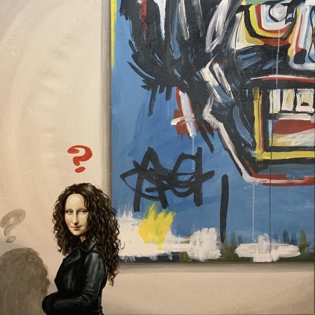 Marchesini, '(ATH) La Gioconda e Basquiat', 2019, ARTION GALLERIES
