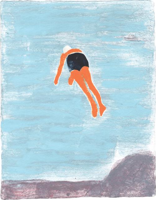 , 'Superheroes & Divers,' 2014, Dieu Donné