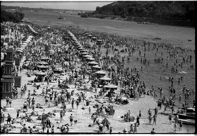 , 'Kyiv city beach,' 1966, Izolyatsia