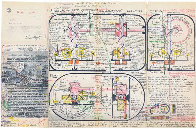 , 'untitled,' 1972, christian berst art brut