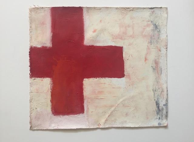 Chris Esposito, 'Form (red cross)', 2012, Amos Eno Gallery