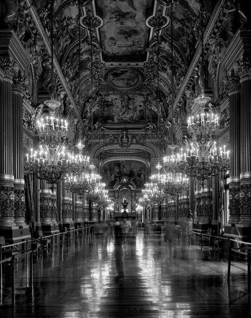 , 'Le Grand Foyer, Opera de Paris- Palais Garnier (TV08415),' 2008, Duran Mashaal