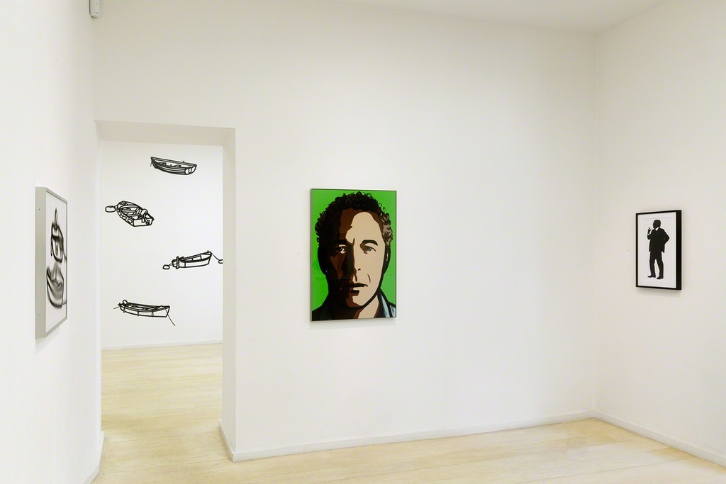 Julian Opie Editions 2012 - 2015 at Alan Cristea Gallery installation shot. Photo Peter White.