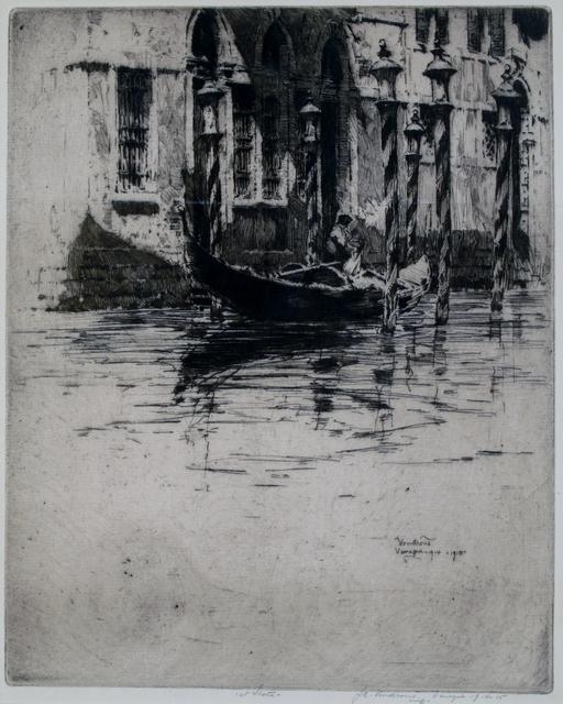 Jan Vondrous, 'Venezia', 1914, Private Collection, NY