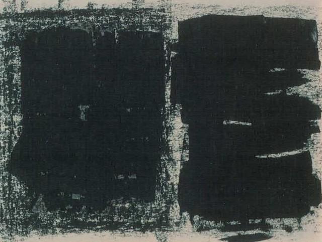 , 'Black Duo No. 1,' 1963, Waterhouse & Dodd