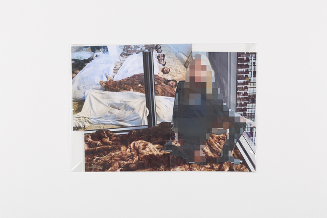, 'Pixel Collage no. 100,' 2017, GRIMM