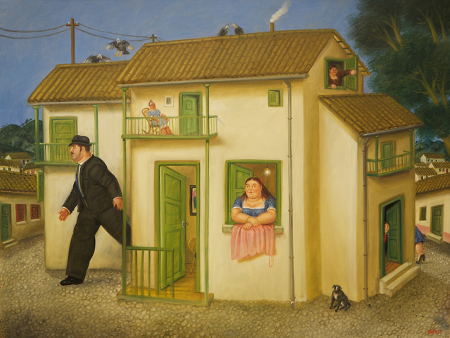 , 'House,' 1995, Opera Gallery