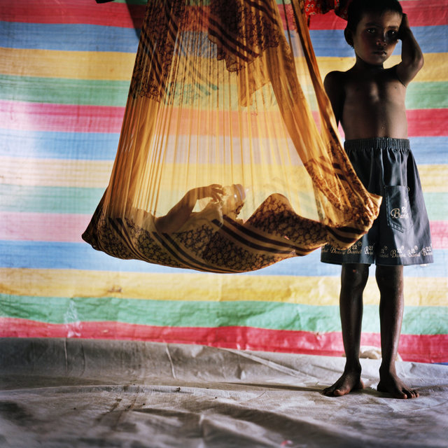 , ' Children in IDP camp, Batticaloa, Sri Lanka,' 2007, CFHILL
