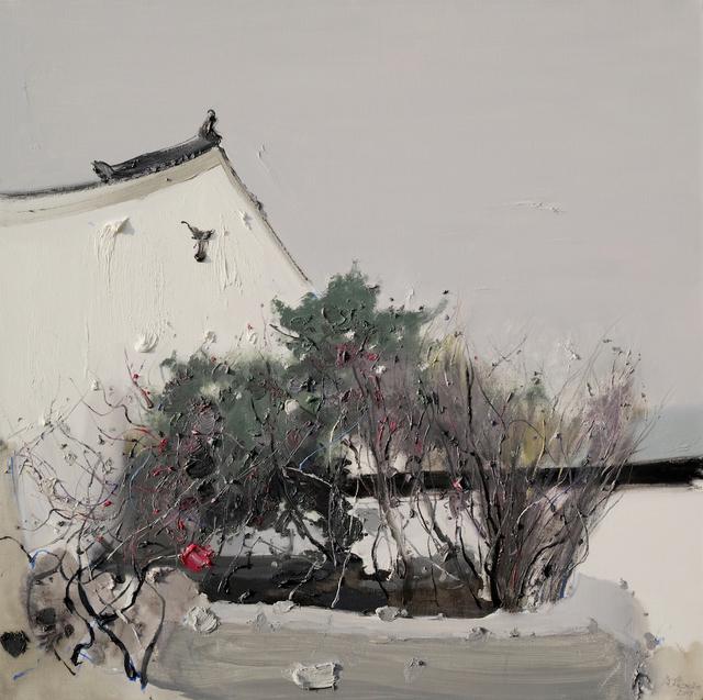 , 'Greenery in the Rain 暗雨枝青,' 2019, iPreciation