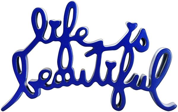 Mr. Brainwash, 'Life Is Beautiful (Blue)', 2015, Marcel Katz Art