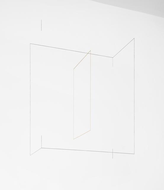 , 'Line Sculpture (cuboid) #31,' 2019, Lora Reynolds Gallery