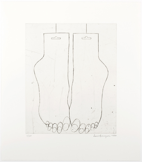 , 'Feet,' 1999, Marlborough Gallery