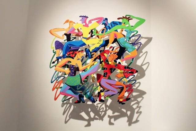 , 'Disco - Transe,' 2012, Galerie Duret