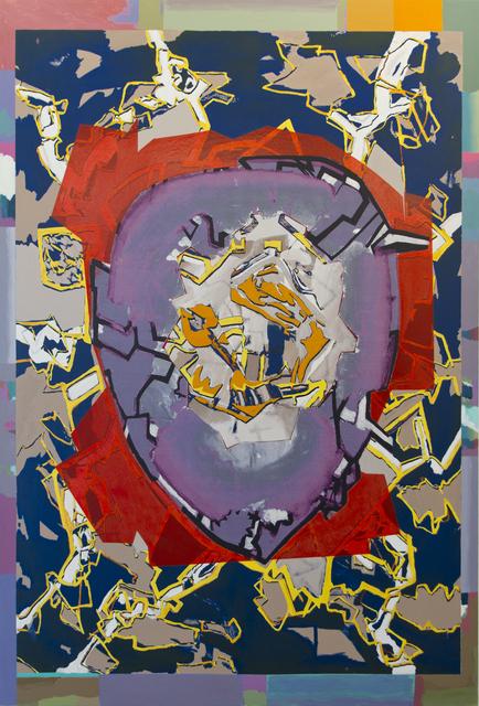 , 'Aparición-lagrima C,' 2014, Luis Adelantado
