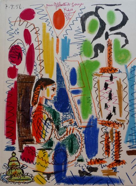 Pablo Picasso, 'L'Atelier de Cannes', 1958, Denis Bloch Fine Art