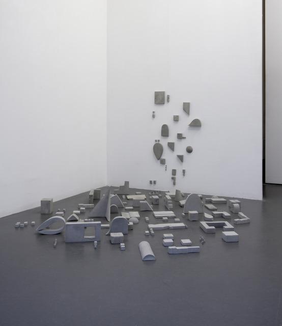 , 'Et nous, nous marchons inconnus,' 2014, Galerie Emmanuel Hervé
