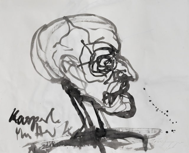 , 'Sketch for Todpuppe,' 2018, Hans Alf Gallery