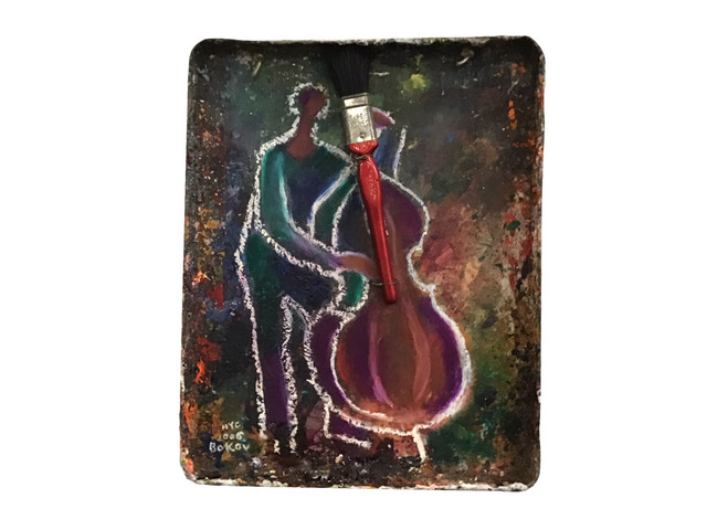 , 'Cello,' 2006, IAZ Art Gallery
