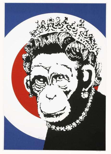 Banksy, 'Monkey Queen (signed)', 2003, Lougher Contemporary