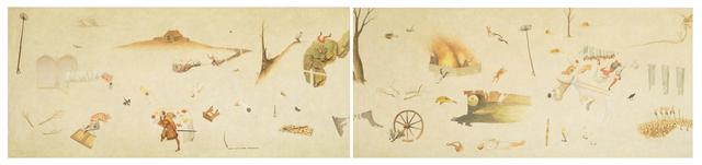 , 'Fragmento XVI a partir del trabajo de Pieter Brueghel el Viejo,' 2016, Proyecto Paralelo