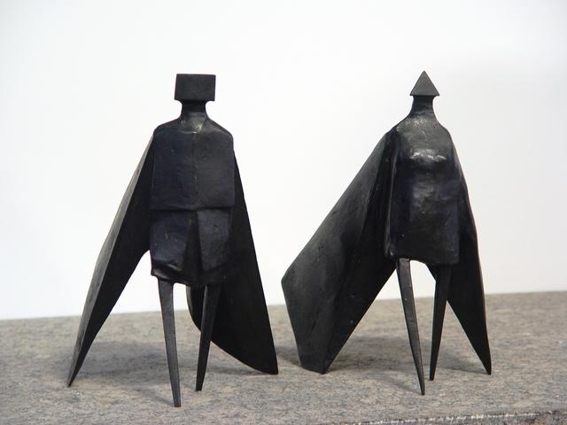 , 'Walking Cloaked Figures VIII,' 1980, Galeria Freites