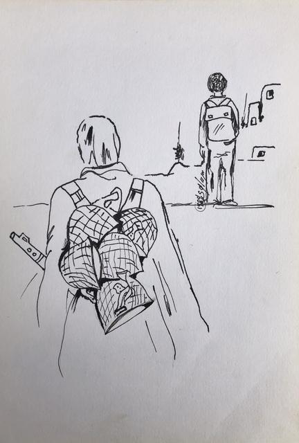 , 'Diary #2,' 1989, Zawyeh Gallery
