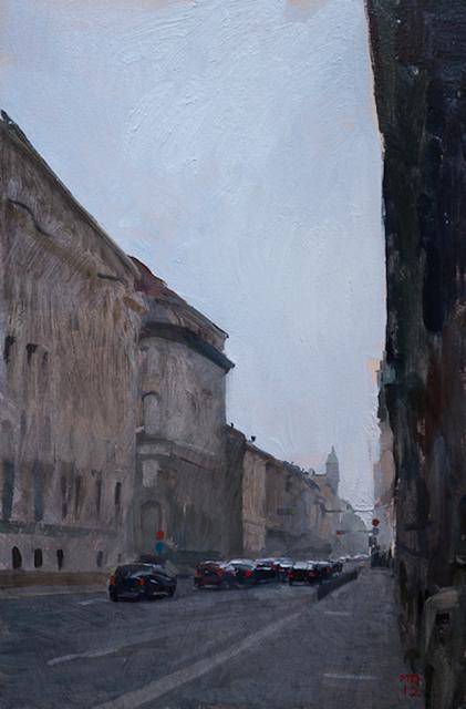 , 'Palmoticeva Ulica (Street in Zagreb),' 2012, Grenning Gallery