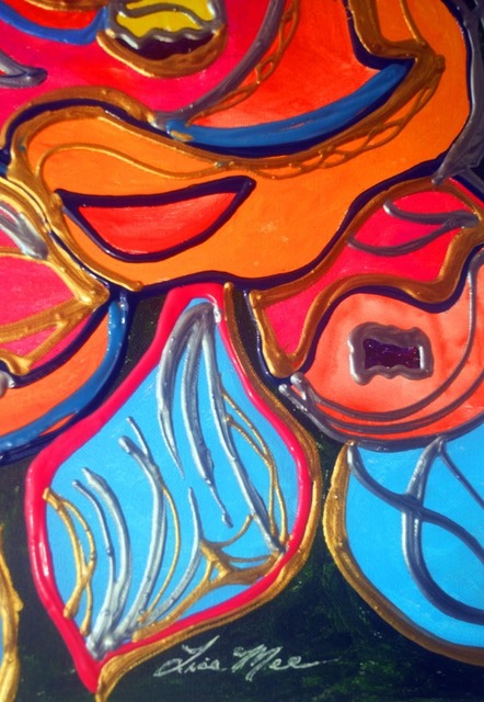 Lisa Mee, 'Bouquet Waves', 2021, Painting, Acrylic, Leviton Fine Art