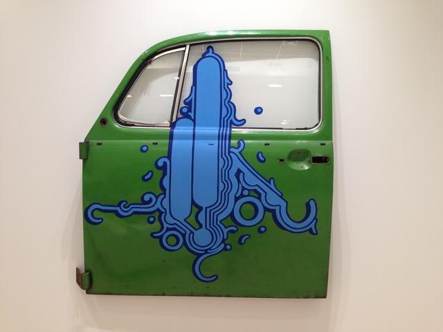 , 'Volkswagen Beetle door,' 2013, Brasilea Foundation