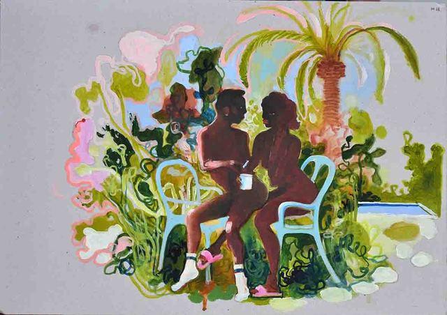 , 'Au Jardin,' 2018, Galerie SOON