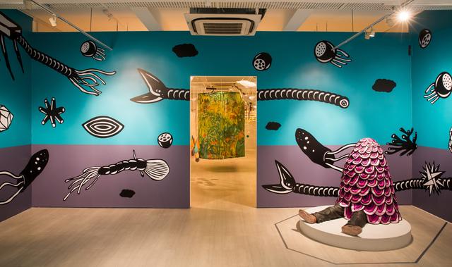 , 'My Wonderful Dream,' 2017, Singapore Art Museum (SAM)