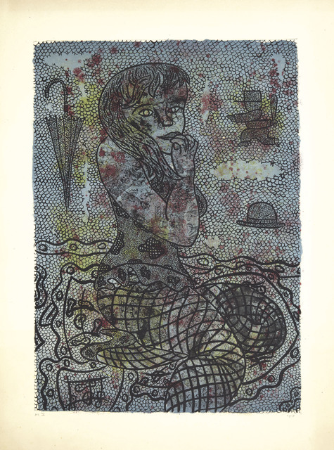William Nelson Copley, 'Woman with a Fishnet', 1962, Christie's