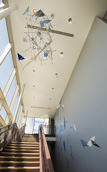 "Installation view of ""Dannielle Tegeder: Infrastructure"" at the Montclair Art Museum, Montclair, NJ."