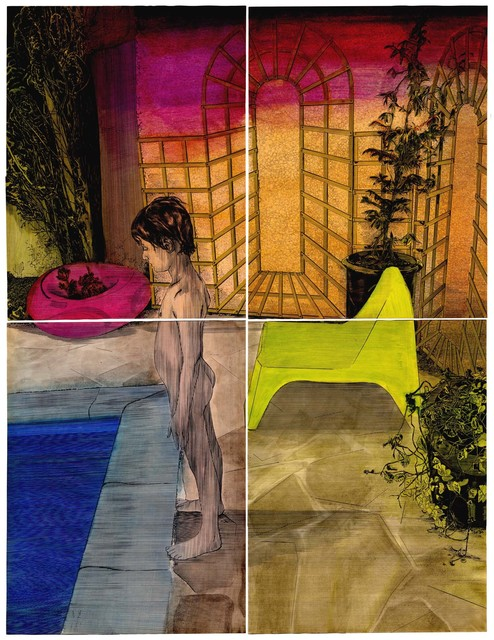 Frédéric Poincelet, 'David Hockney', 2017, Galerie Catherine Putman