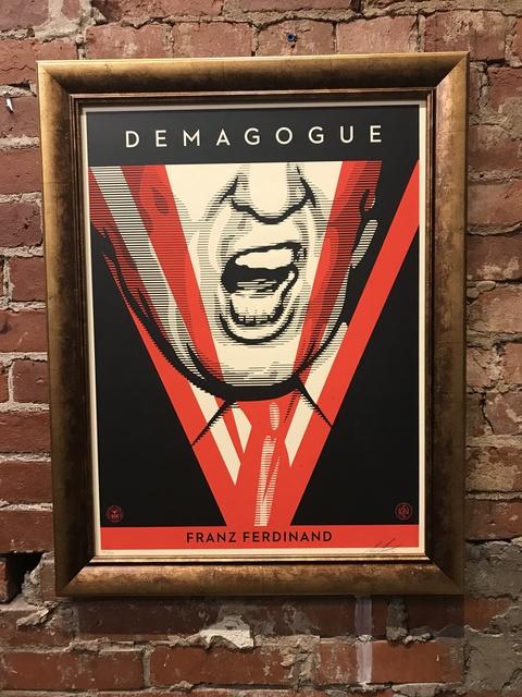 , 'Demagogue,' 2016, Mason-Nordgauer Fine Arts Gallery