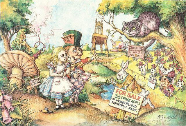 , 'Alice Buying Wonderland,' 1985, ArtWise