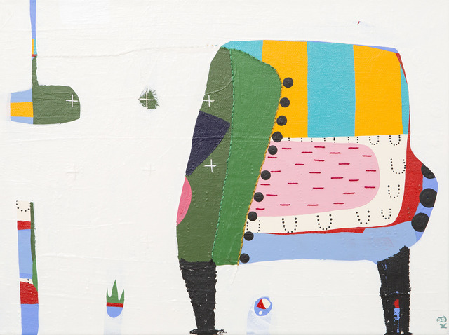, 'Middle English,' 2017, Matthew Rachman Gallery