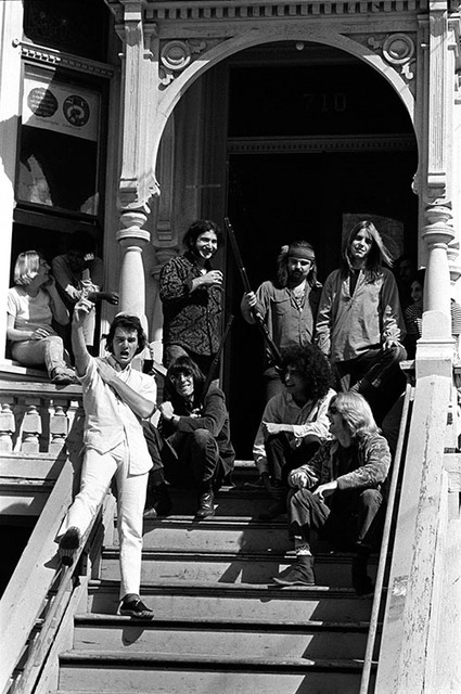 , 'Grateful Dead on the steps,' 1968, Mouche Gallery