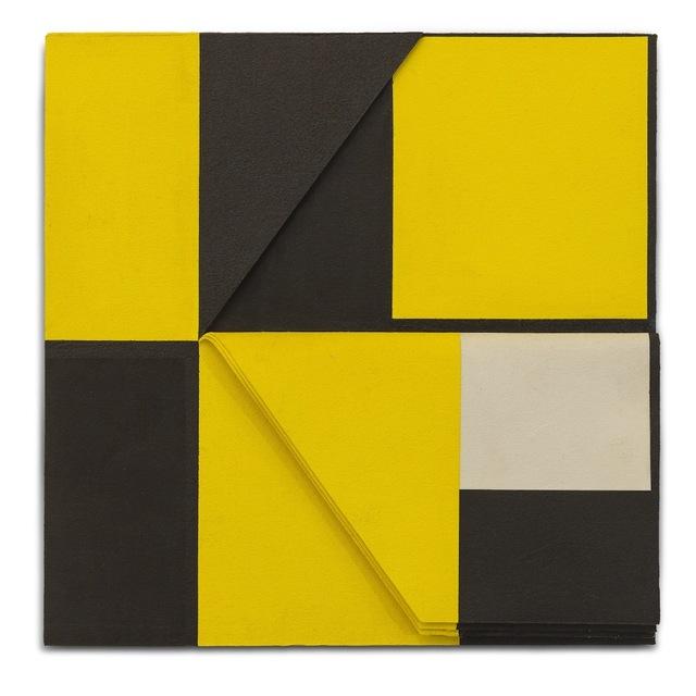 , 'Relevo (amarelo-preto) N.1,' 2010, Galeria Leme
