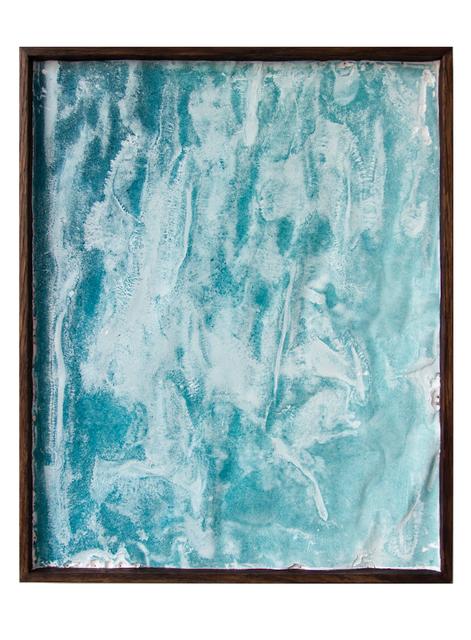 Ann Iren Buan, 'Drifting Veil (Turquoise Blue)', 2017, Prosjektrom Normanns