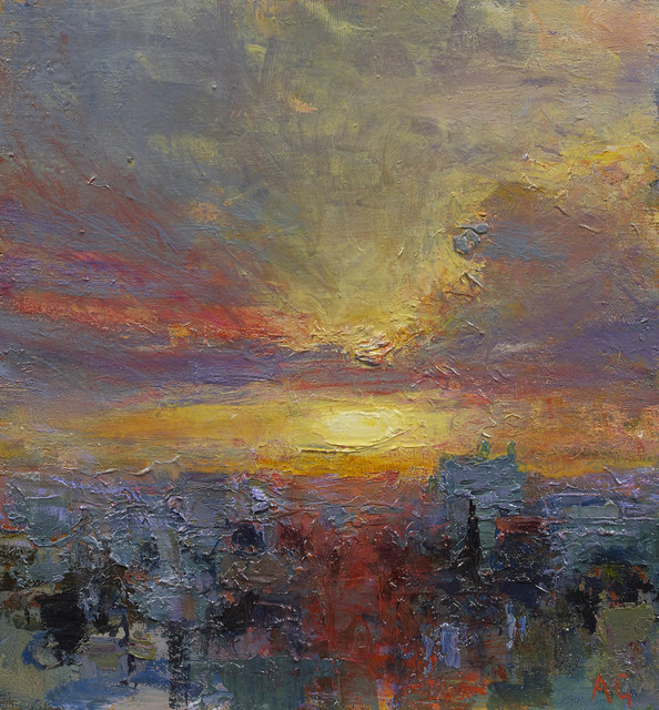 , 'Ramallah Evening VI,' 2013, John Martin Gallery