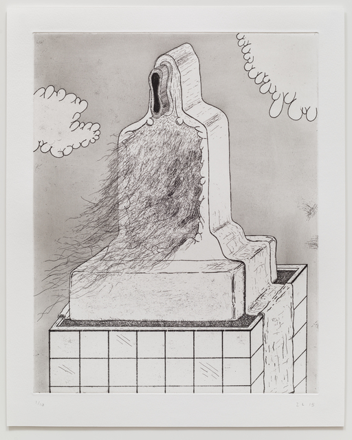 , 'Five Etchings (Skyscraper),' 2015, TIF SIGFRIDS
